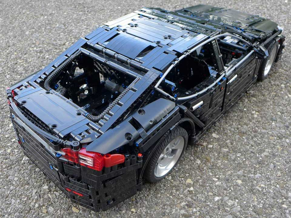This Lego Technic Moc Tesla Model S Should Be Made As An
