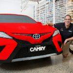 Toyota Unveiled A Life-size 500,000 Bricks LEGO Camry
