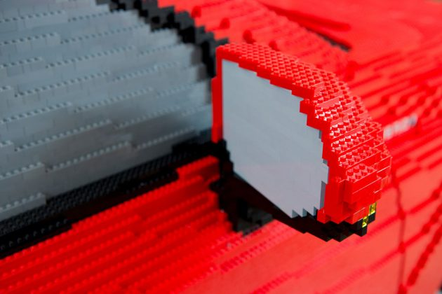 Life-size LEGO Toyota Camry by Ryan McNaught