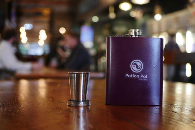 Magic Flask Enhances Liquor Taste and Aroma