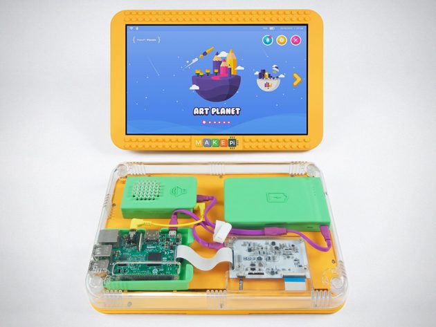 MakePad DIY Touchscreen Tablet for Kids by MakePi