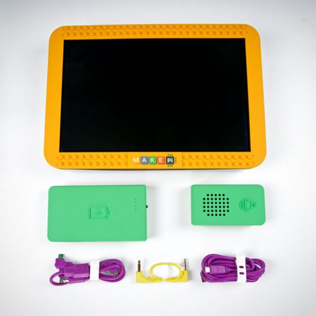 MakePad DIY Touchscreen Tablet for Kids by MakePi