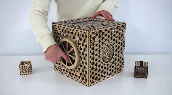 Miyagi University Graduate Project Puzzle Box