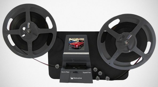 This Old School Film Projector-Like Gadget Will Digitize Old Film Footage