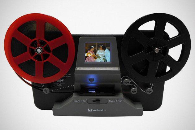 turn old film reels into digital footage