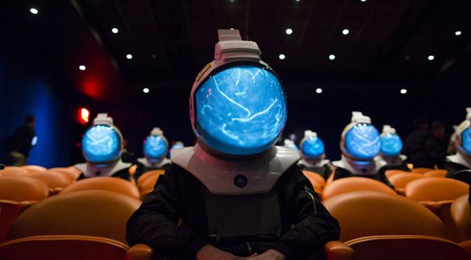 NatGeo Made Space Projection Helmets To Promote New TV Docu