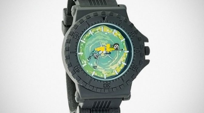 Officially Licensed Rick and Morty Portal Watch