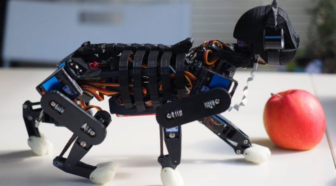 Petoi OpenCat Programmable Robotic Cat by Rongzhong Li