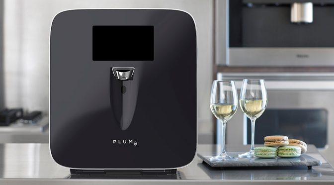 Plum Chilled Wine Dispenser Machine