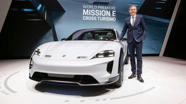 Porsche Mission E Cross Turismo Concept Study