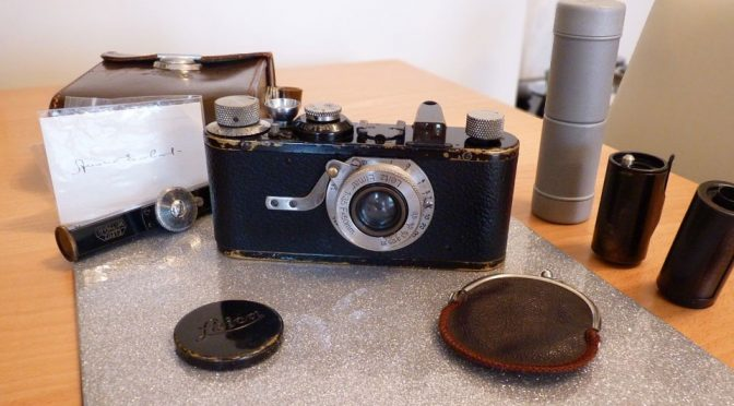 Purported Amelia Earhart Leica Camera on eBay for £50K