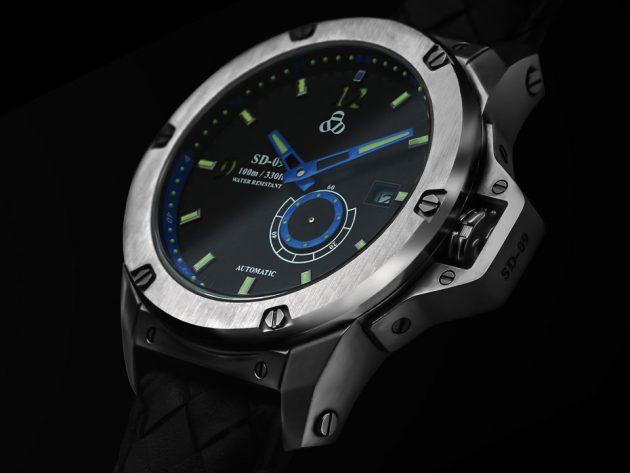 SD-09 UFO Spacecraft UFO-inspired Timepiece