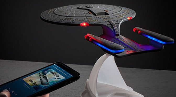 <em>Star Trek TNG</em> Enterprise Bluetooth Speaker Is A Reality Now, Will Coax You To Sleep With Engine Noise Too