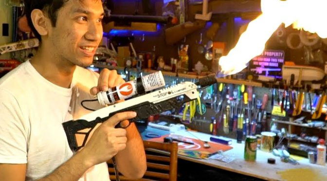 The Boring Company Mini Flamethrower