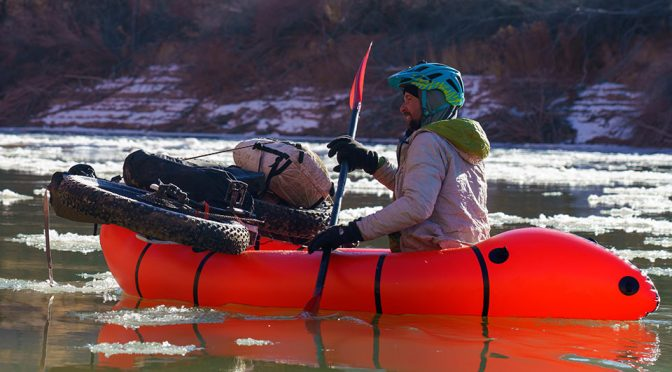 Alpacka Caribou Packraft Will Take You And Your Bike Across The Water