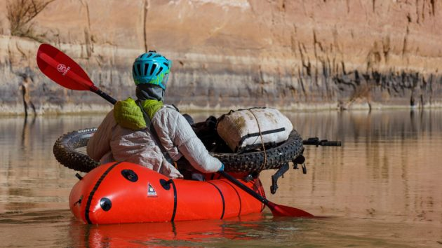 The Caribou Inflatable Packraft by Alpacka Raft