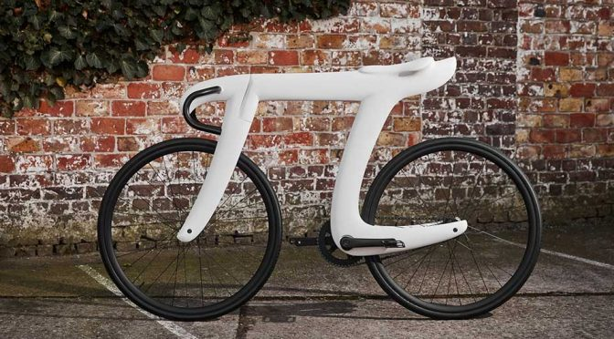 Oh, Look, Someone Made A Bicycle In The Shape Of <em>Pi</em> Symbol