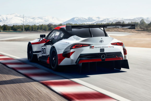 Toyota GR Supra Racing Concept Car at Geneva