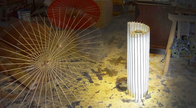 Umbrellamp Oil-paper Umbrella Lamps