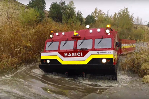 Vityaz DT-30PM Amphibious All-terrain Tracked Carrier Vehicle