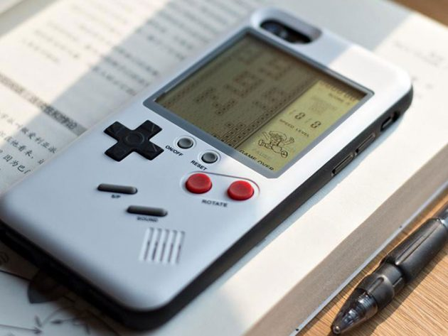 Wanle Functional Game Boy Case For iPhone