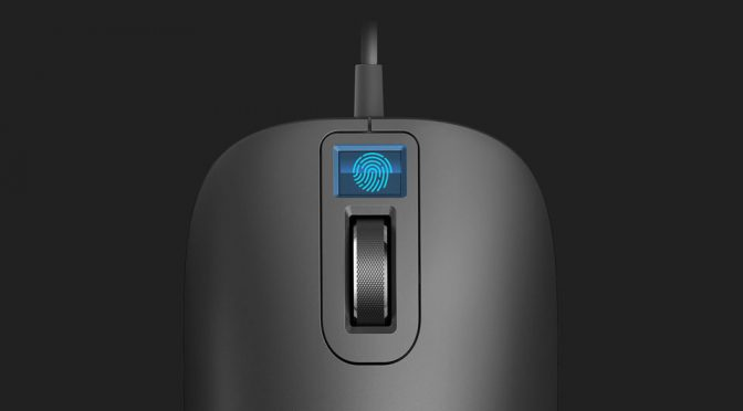 Xiaomi Is Crowdfunding Its First Fingerprint Sensor Computer Mouse