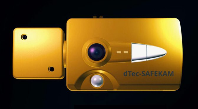 dTec SafeKam Life-saving Motion-detecting Dash Camera