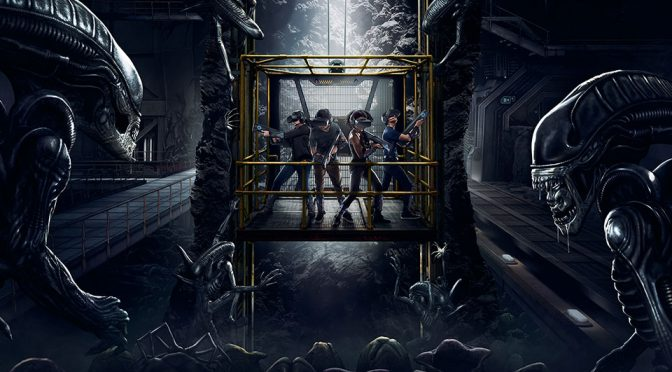 ALIEN: DESCENT Free-roaming VR Experience