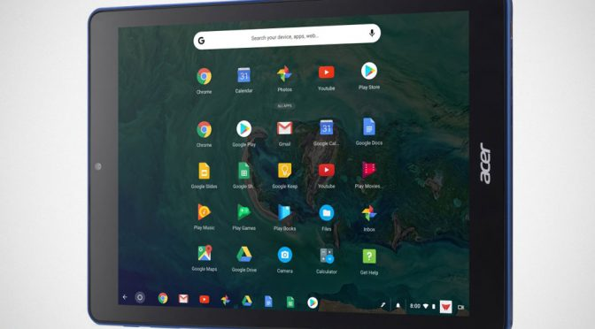 Acer Chromebook Tab 10 Chrome Tablet