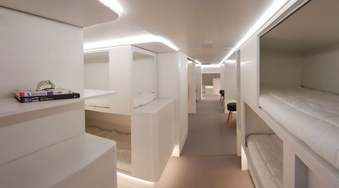 Airbus' Idea Of Passengers' Comfort Is Letting Them Sleep In The Cargo Area