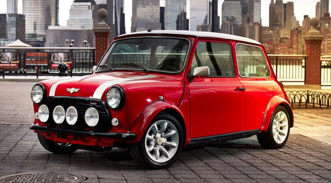 Seriously, I Want This All-electric Classic Mini Now!