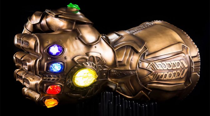 Avengers Infinity Gauntlet Bluetooth Speaker