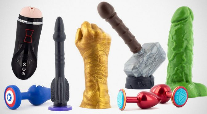 A Different Kind Of War Rages In The Bedroom With These <em>Avengers</em> Sex Toys
