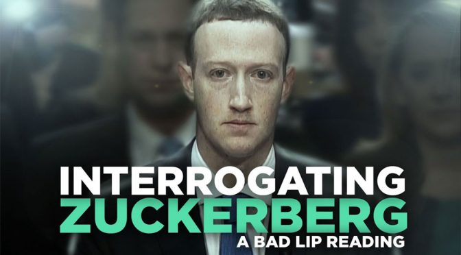 Bad Lip Reading Interrogating Zuckerberg