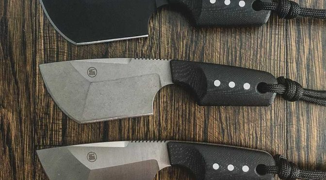 Blanka Pocket Cleaver Knife by JHO Knives