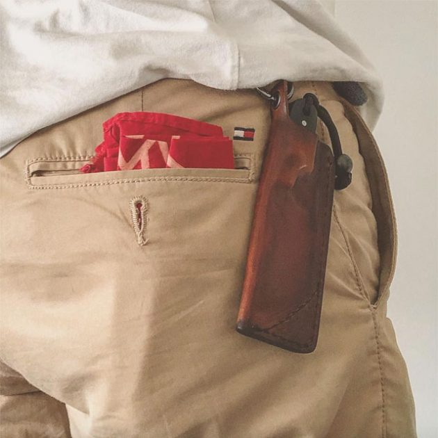 Blanka Pocket Cleaver Knife by JHO Knives