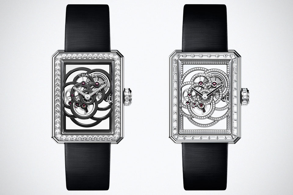 59db3d9f42cf Chanel BOY.FRIEND Skeleton Watch Is Completely See-Through!