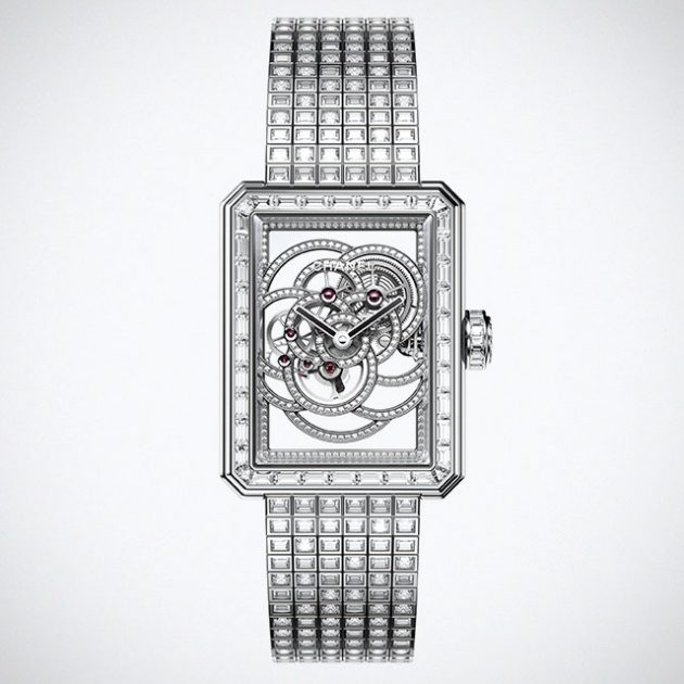 Chanel BOY.FRIEND Skeleton Watch
