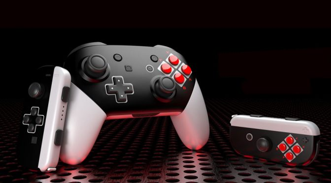 ColorWare Joy-Cons 8-bit and Pro Controller 8-bit