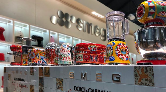 D&G x SMEG 2018 Small Kitchen Appliances