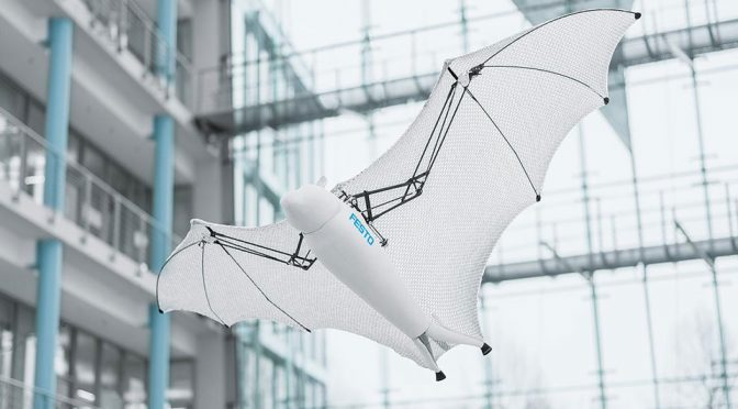 Festo BionicFlyingFox with Intelligent Kinematics