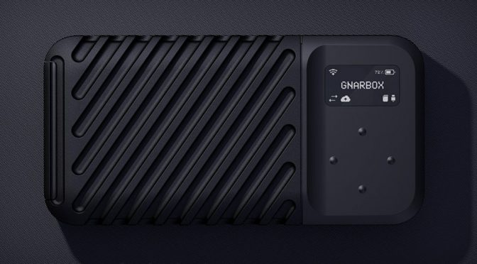 GNARBOX 2.0 SSD Rugged Backup Drive