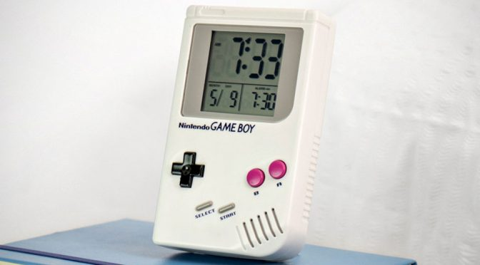 Game Boy Alarm Clock Wakes You Up To The Tune Of <em>Super Mario Land</em> In 8-bit