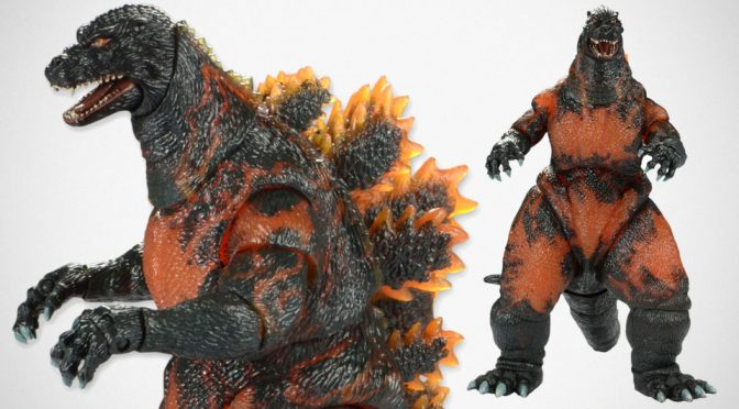 NECA Classic 1995 Burning Godzilla Action Figure