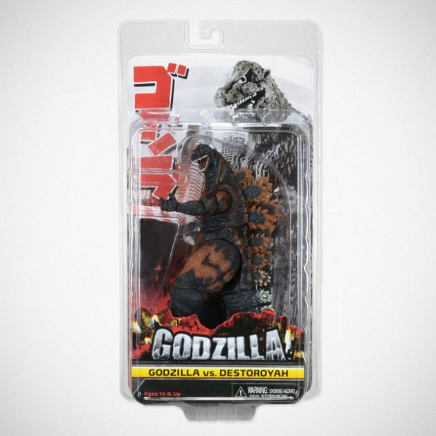 NECA Classic 1995 Burning Godzilla Action Figure