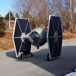 Rideable Electric TIE Fighter Is Every <em>Star Wars</em> Fans Dream Come True