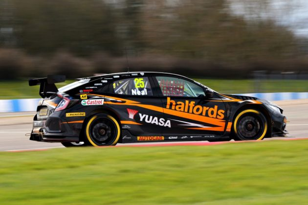 Honda Civic Type R BTCC Race Car
