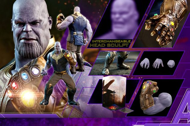 Hot Toys Avengers: Infinity War 1/6th scale Thanos Collectible Figure