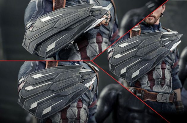 Hot Toys Avengers Infinity War Captain America 1/6the Scale Figure