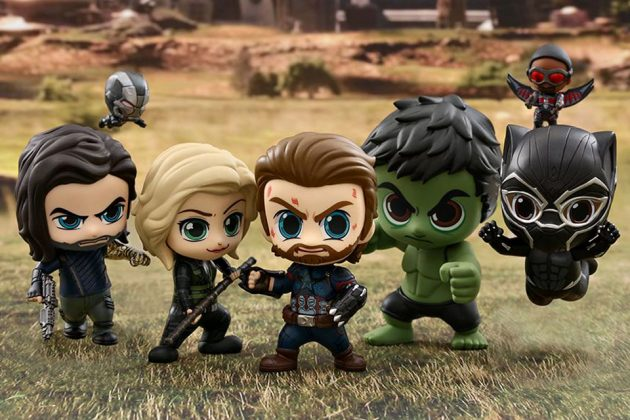 Hot Toys Avengers: Infinity War Cobaby(s) Bobble-head Set